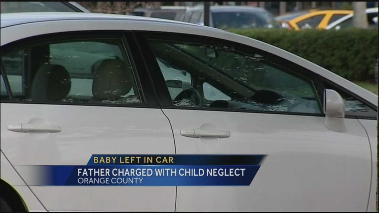 Police say father left baby in car