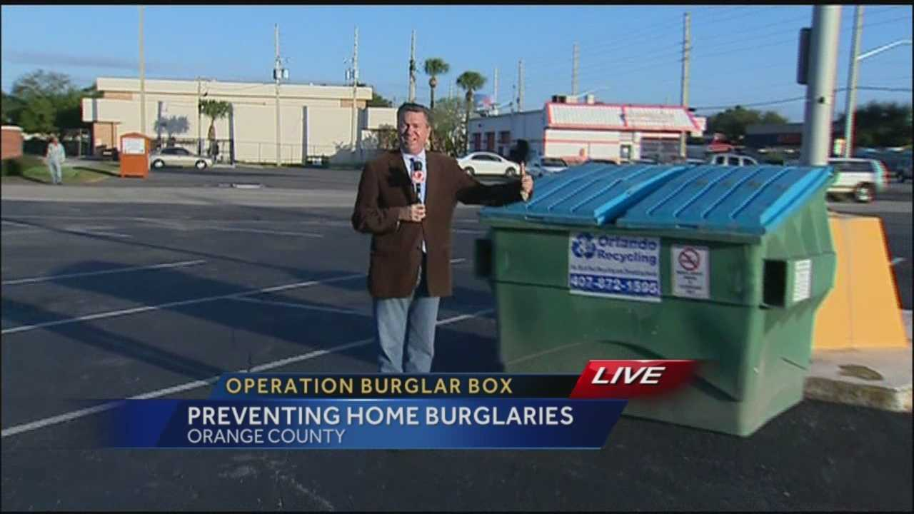 Don't leave boxes at curbs, deputies say