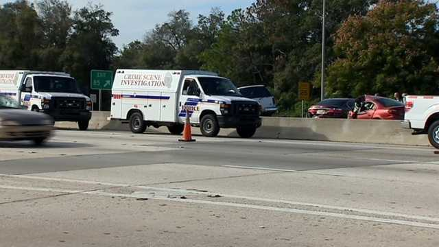Two people are killed in a crash that closed Interstate 4 near downtown Orlando for hours.