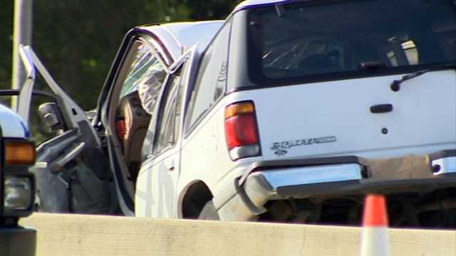 Police said they received calls of a white Ford Explorer that was going the wrong way on I-4 at a high rate of speed.