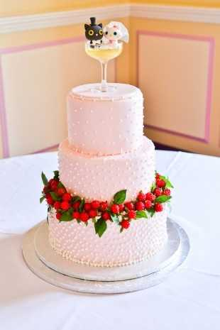 Don't fall in love with these cakes too quickly. Some cakes have a crazy price tag of around $10,000.
