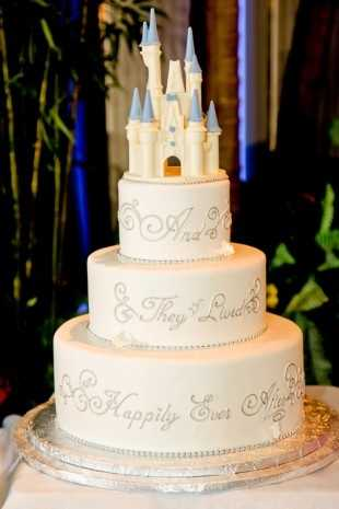 Disney also goes through about 1,200 quarts of fruit puree every year with its cakes.