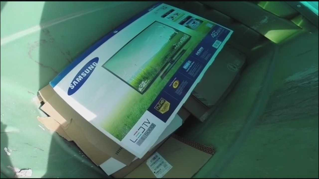 Deputies: Recycle big boxes, don't put at curb