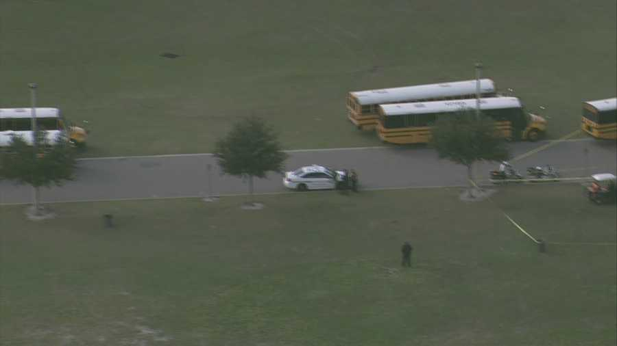 A student at West Orange High School was reportedly shot at the soccer practice field near the bus loop during an argument with another student.