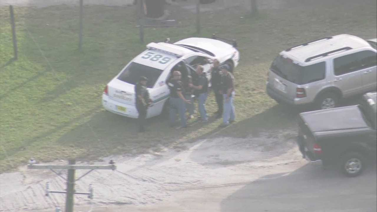 Wesh exclusive raw video of West Orange High School shooting suspect.