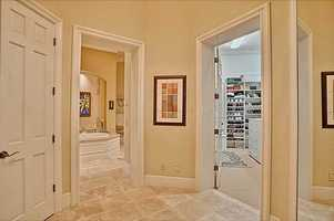 It includes a massive en-suite bathroom and walk-in closet.