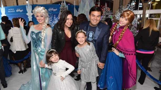 "Kristen Anderson-Lopez and Robert Lopez wrote songs for Disney's new movie ""Frozen."""