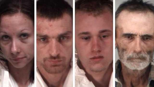 Meth arrests