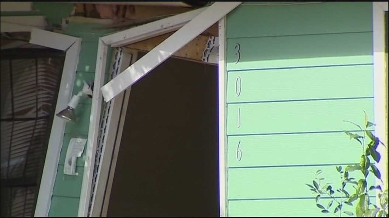 Deputies told WESH 2 they believe the act was intentional because a cinder block was found on the gas pedal.