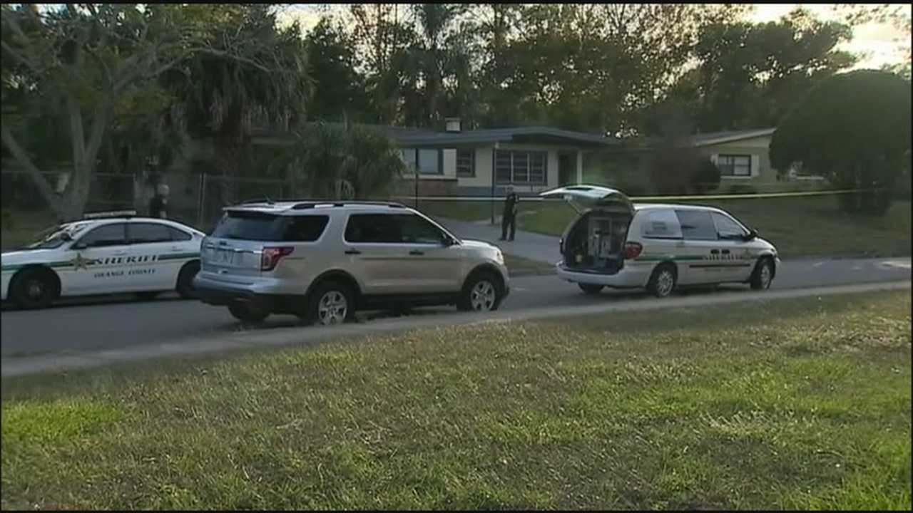Human remains were found behind a vacant home on Laconia Road in Pine Hills on Tuesday afternoon, and the death appears suspicious, deputies said.