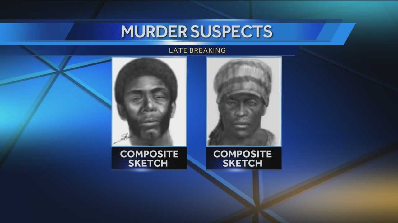 Deputies have released sketches of the men wanted in connection with an Orange County homicide in November.