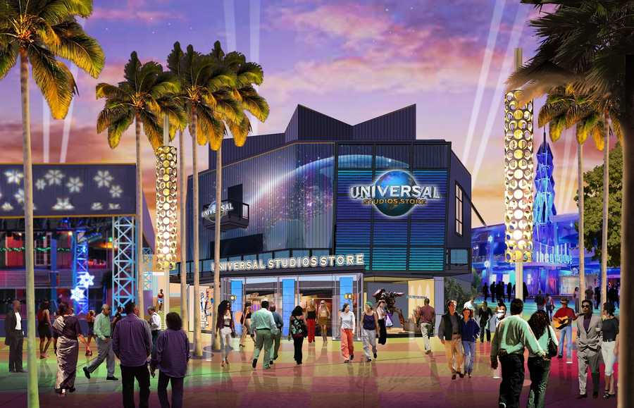 Renovations will be made to the current Universal Studios store.