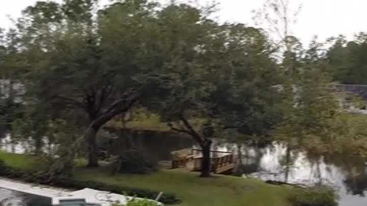 A tornado caused damage to a neighborhood in Palm Coast on Saturday night.