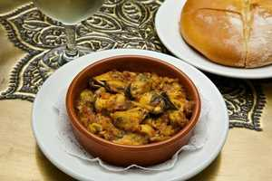 Mussels Tagine