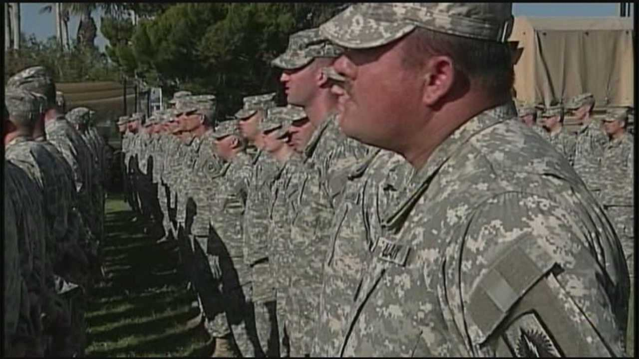 Several Florida companies are rising to the challenge to bring home 180 National Guardsmen in time for Christmas.