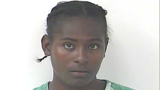 Ashley Williams is accused of abandoning her two daughters, ages 4 and 2.