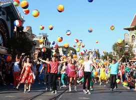 The cast of Teen Beach Movie