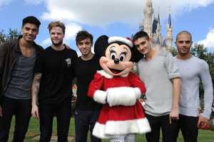 Minnie Mouse and The Wanted