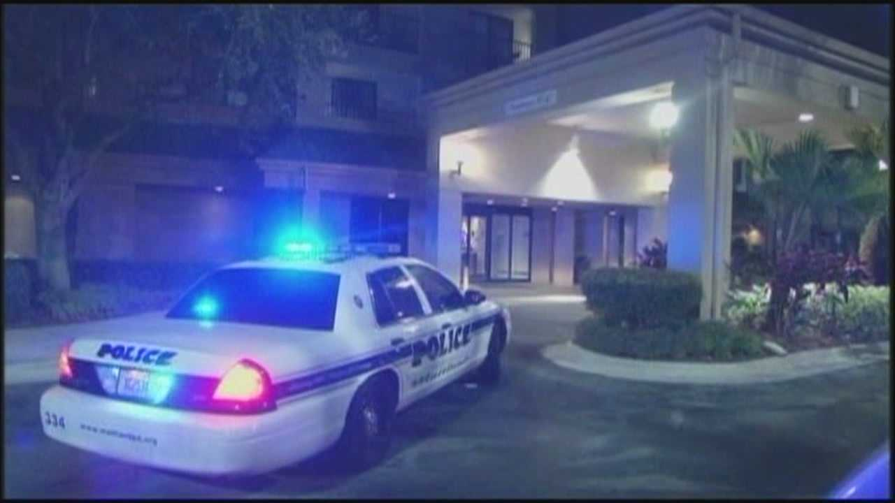 Two gunman robbed a local hotel just before midnight Wednesday, according to Maitland police.