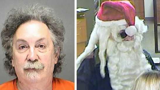 Police: Suspected Santa bank robber arrested