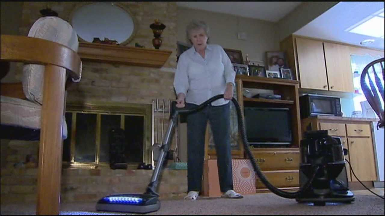 An Ocala woman says she made a mistake by purchasing a $2,600 vacuum for a door-to-door salesman, and now she can't get her money back.