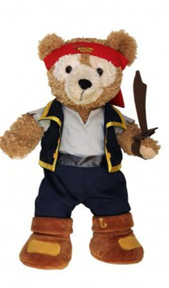 """In March, guests can grab the Jake costume from Disney Junior's """"Jake and the Never Land Pirates."""""""