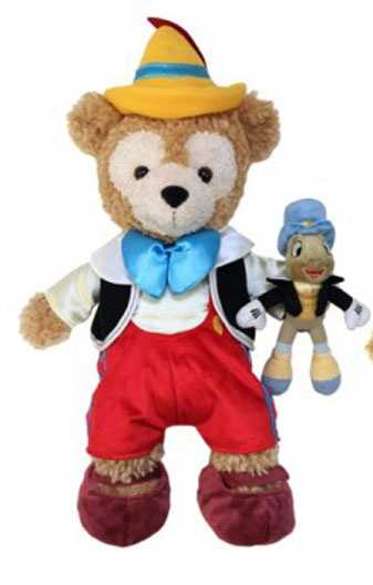 Duffy gets his own friend in Jiminy Cricket in February with the Pinocchio costume.