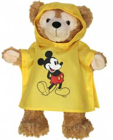 No Duffy wardrobe would be complete without a yellow Disney poncho.