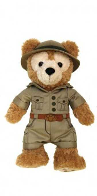 Guests can get a pre-dressed safari Duffy in February.