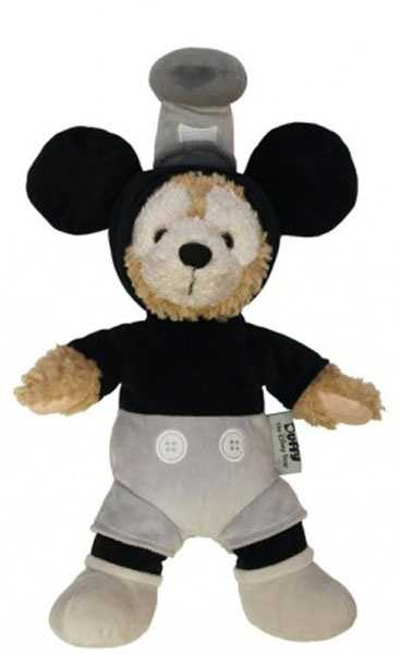 Steamboat Willie is also a pre-dressed Duffy Bear that will be available in early 2014.