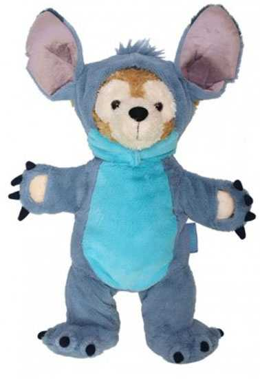 Duffy looks great in his Stitch costume, coming in February.