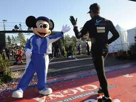 1.Get a head start to your 2014 fitness goals and register for the Walt Disney World Marathon. Take a look at runDisney's website for details on the race.