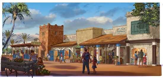 11. This year Spice Road Table will be joining Epcot at the Morocco pavilion.