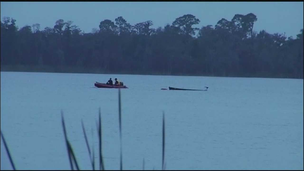A woman is missing after her canoe capsized on Saturday while fishing on Lake Pickett.