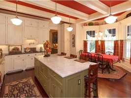 The chef of the house will absolutely love the wide, open kitchen and breakfast nook.