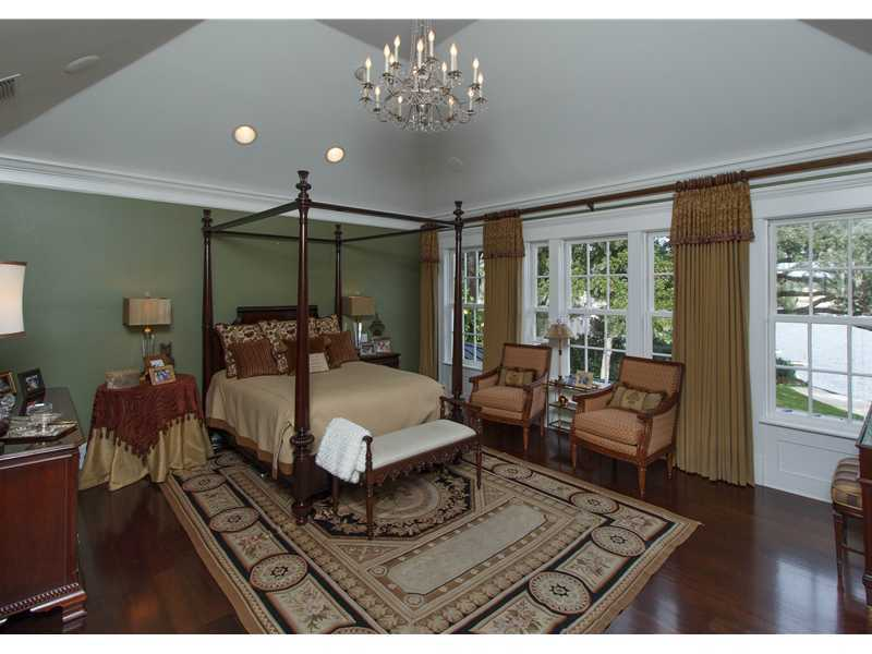 The second floor is divided into three parts: the master suite, the guest suites, and the bedroom wing. The master bedroom features vaulted ceilings and breathtaking views.