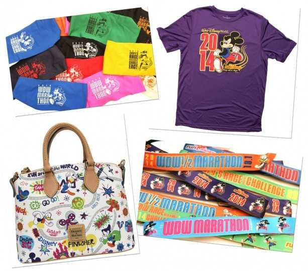 Sweat bands, Bondi bands, purses and T-shirts make up some of the 2014 merchandise.