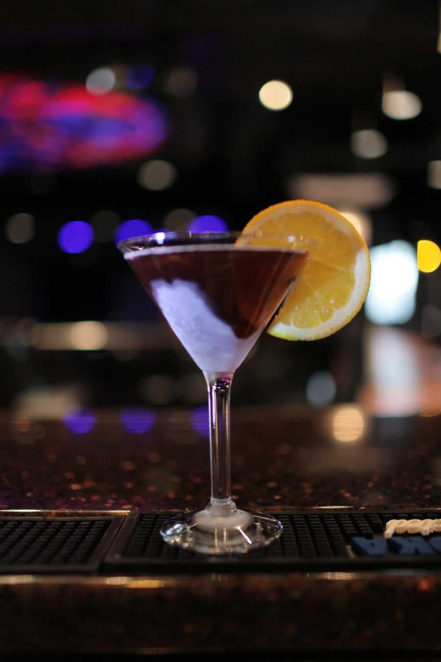 13. The Abbey in downtown Orlando serves up not only diverse entertainment, but this sinful drink, The Envy. Found on their Sinful Sips drink menu, this cocktail will have your mouth dancing with citrus sensations.