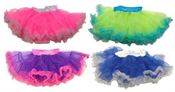 If you want to run in style, check out these colorful running tutus complete with the runDisney logo.