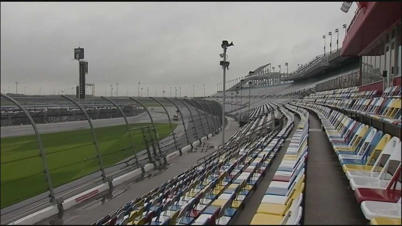 Construction work for the Daytona Rising Project is now six months in as workers transform Daytona International Speedway from a racetrack to an amenities filled motorsports stadium.