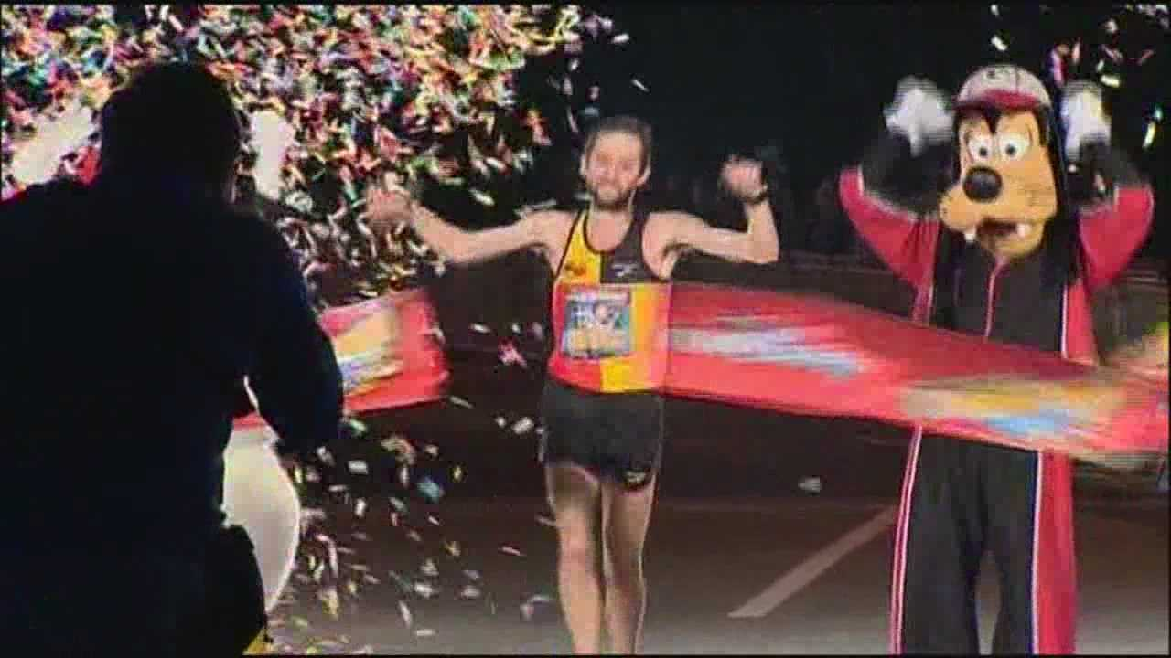 About 26,000 runners spent the early morning hours running through Disney during the annual marathon.