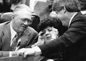 Rep. Elaine Gordon with two other representatives.