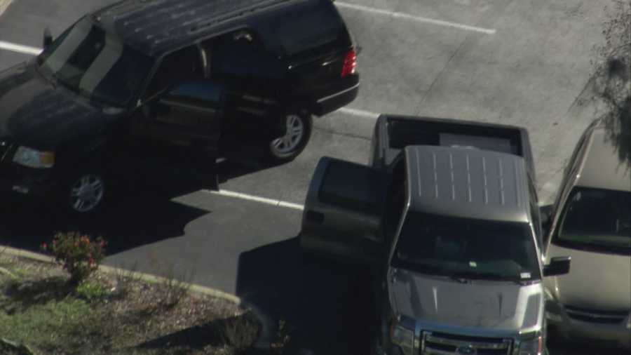 Police captured two suspects near South Seminole Hospital at State Road 434 and Central Florida Parkway.