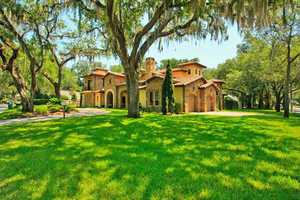 The homes is 7,530 sq. ft. and sits on .52 acres. For more information on this property, visit Realtor.com