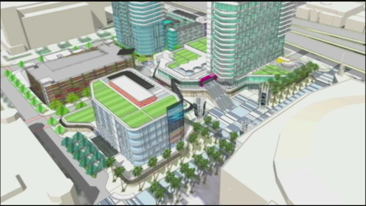 The municipal planning board of Orlando voted on Tuesday to approve a proposed zoning change that would allow the Orlando Magic to build an entertainment center in downtown Orlando.