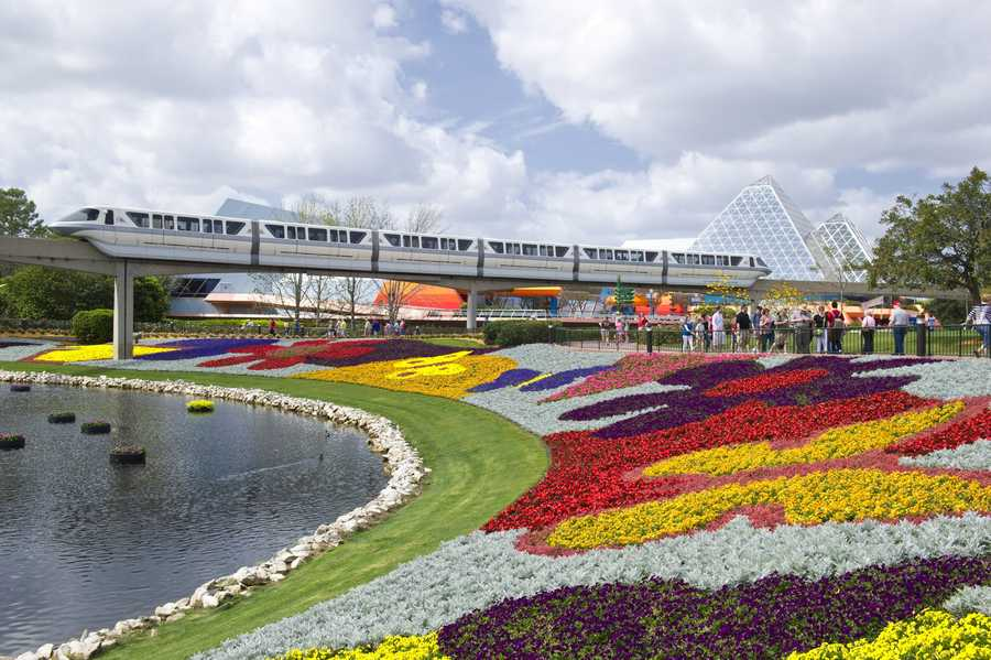 This spring, Epcot is kicking off their annual Flower Power weekend. Guests can enjoy their favorite pop tunes and rock 'n' roll classics of the 1960s, '70s and '80s.
