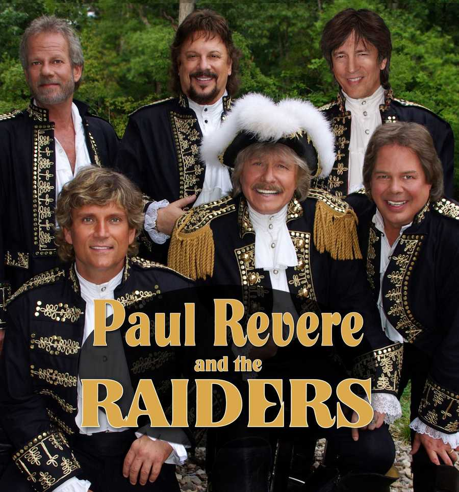 "Paul Revere & The Raiders""Good Thing"" April 4-6"
