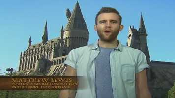 Harry Potter stars joined in on the live webcast on Thursday, Jan. 23, including Matthew Lewis, who plays Neville Longbottom.