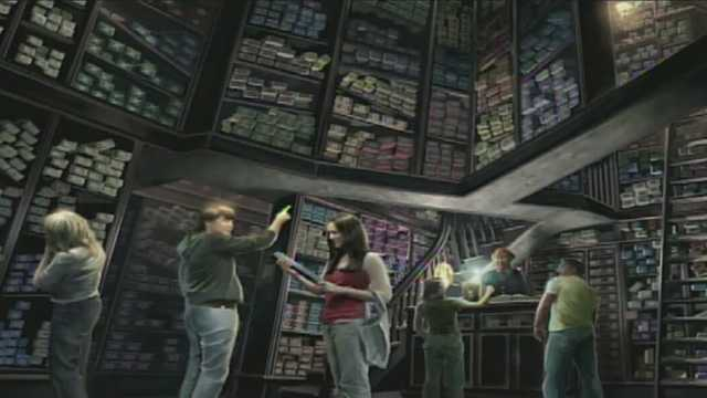 Ollivanders: Makers of Fine Wands since 382 BC, one of the wizarding world's premier wand shops.