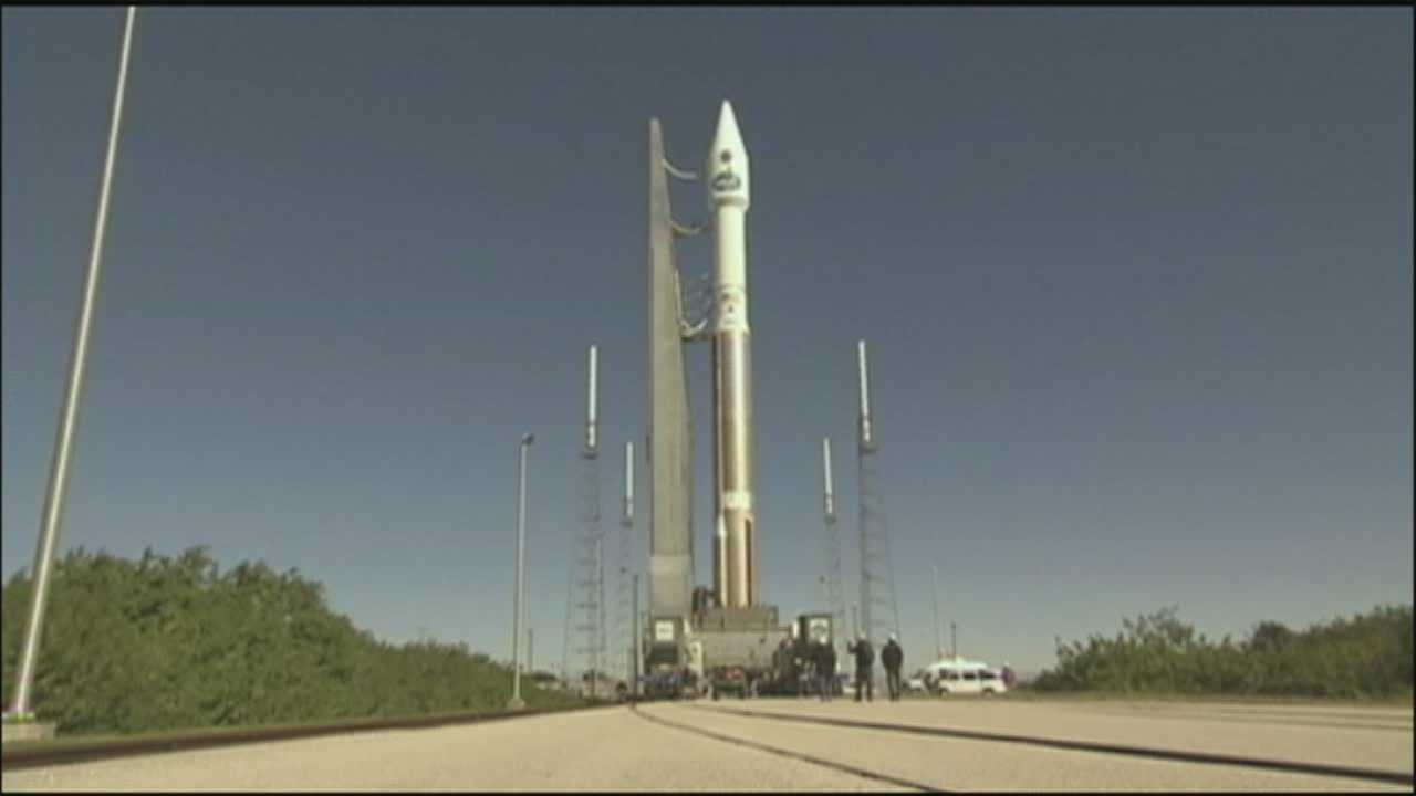 The Atlas V rocket.